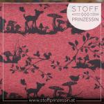 Alpin fleece Woodland red