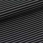 Streifen classic schwarz/grau