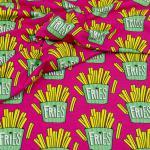 Sweat OMG Fries pink