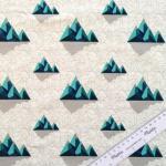 Sweat Graphic Mountains blau