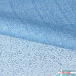 Jacquard knit Dotties light blue/dusty blue