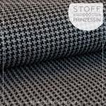 Tweed Knit grau/schwarz