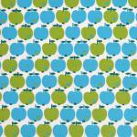 Apfel blau/grün