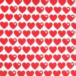 Herzen rot
