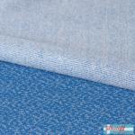 Jacquard knit Dotties dusty blue/grey