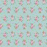 Webstoff Delightful Roses mint