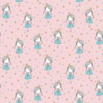Webstoff Little Princess rosa