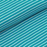 Stripes classic dark turquoise
