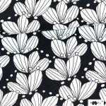 Bouquet schwarz/weiß