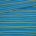 Krakelstreifen blau