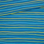 Krakelstreifen blue