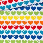 Regenbogen Herzen