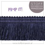 Fringe Trim dark blue