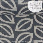 Jacquard Fall Leaves grau