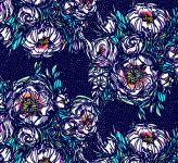 Bouquets navy