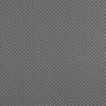 Webstoff Kleine Punkte grau