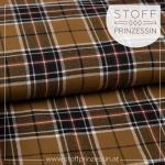 Webstoff Lumbercheck Karo brown
