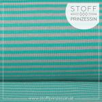 Striped Rib mint green/green