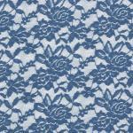 Stretch Lace denim blue