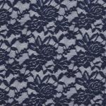 Stretch Lace dark blue