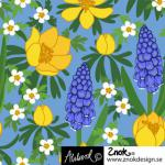 ZNOK Spring Flower blue