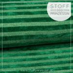 Strickstoff Streifen grün