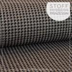 Tweed Knit greyish brown/schwarz