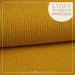 Knit grey mustard