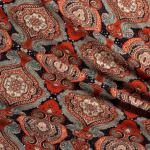 Viskosedruck Orient Ornament