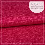 Webstoff Dotty pink