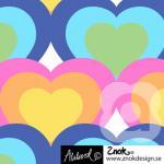 ZNOK Hearts pastel