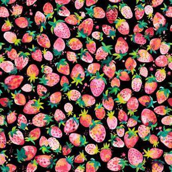Strawberry schwarz
