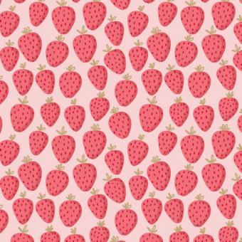 Sweat Glitzer Erdbeere