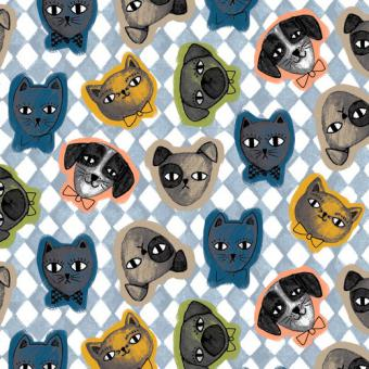Webstoff Cats & Dogs