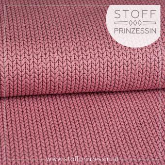 Big Knit Sparkle rosa