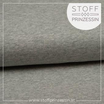 Cotton jersey grey melange