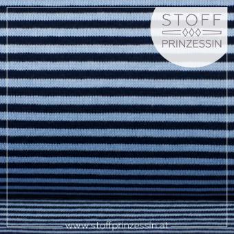 Striped Rib blue/blue