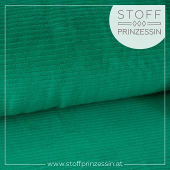 Cordjersey breit smaragd