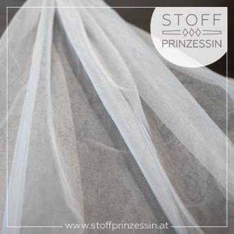 Shiny swiss tulle silver