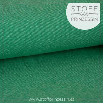 Kuschelsweat Slub grün