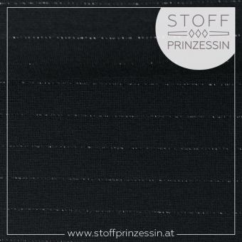 Glitzer Interlock Pia dark blue