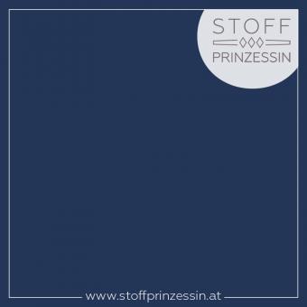 Stretchjersey marineblau