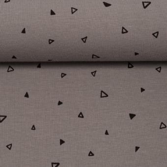 Mini Dreieck grau