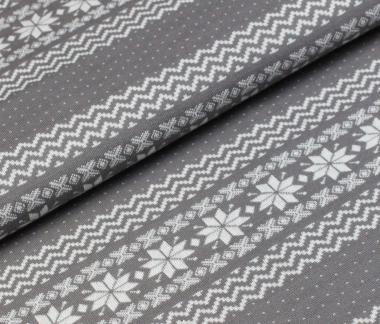 Norweger Bordüre grey
