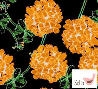 Sweat Pelargonia orange