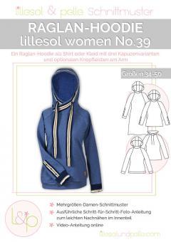 lillesol women No.39 Raglan-Hoodie