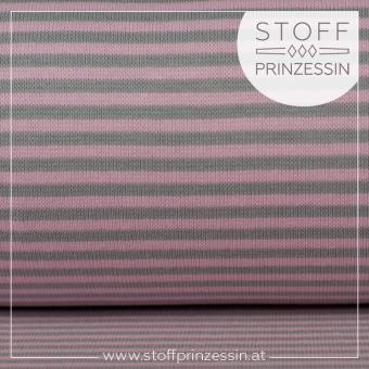 Striped Rib light pink/grey