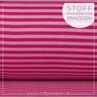 Striped Rib light pink/fuchsia