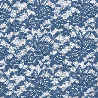 Stretchspitze jeansblau