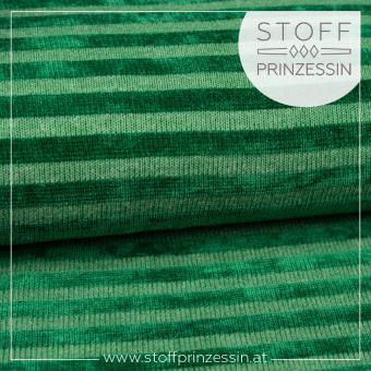 Knit Stripes green
